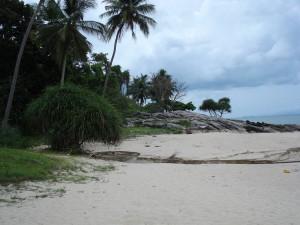 Kleine Bucht bei Khanom