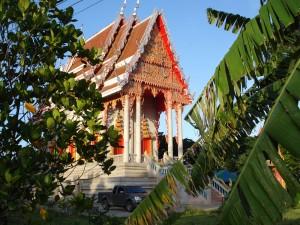 Kleine Tempelanlage bei Nakhon Sawan