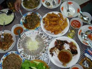 Eine bunte Auswahl an Seafood